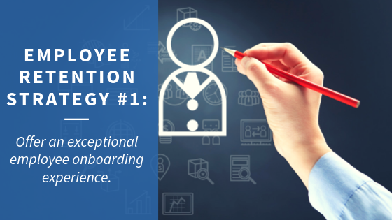 Employee Retention Strategy 1: Onboarding