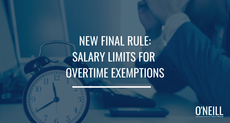 Salary Limits for Overtime Exemption