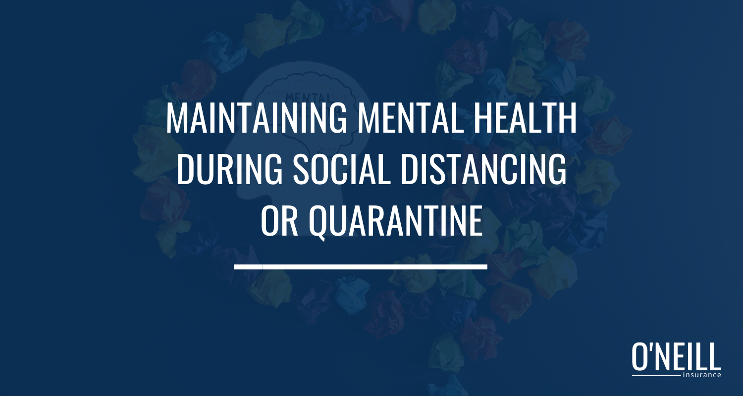 Mental Health Social Distancing