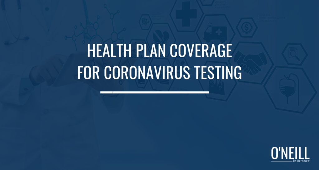 Health Plan Coverage for Coronavirus Testing