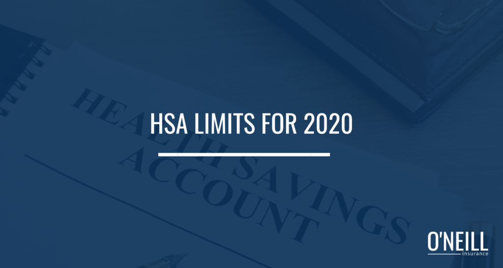 HSA Limits for 2020